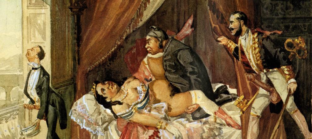 Ninfomana y maria de brunoymariase montan este trio vicioso - 3 part 7